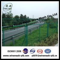 Wholesale Green PVC coated highway road Fence from china suppliers