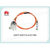 Wholesale QSFP-4SFP10-AOC10M Huawei Optical Transceiver QSFP+ 40G 850nm 10m AOC Connect To Four SFP+ from china suppliers