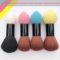 Buy cheap Double Head Makeup Foundation Brush Powder Puff  Synthetic Hair and Sponge Hair Material from wholesalers
