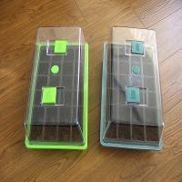 Wholesale Plastic Garden Seedling Plant Propagator Mini Greenhouse with Lids and Seed Nursery Tray from china suppliers