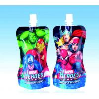 Wholesale Stand up pouch with custom spout , printed stand up spout pouch from china suppliers