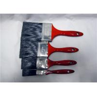 "Wholesale Customized 1"" 2"" 3"" 4"" Paint Brush For Walls With Red Lacquered Wooden Handle from china suppliers"