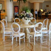 Wholesale Factory direct rental banquet chairs for wedding Elegant Hotel used white banquet chairs for sale from china suppliers