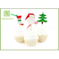 Wholesale Flower Bakery Cake Decoration Toppers With Logo Printed Environmentally Friendly from china suppliers