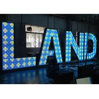 Wholesale Indoor RGB Custom LED Display LED Letters Steel Cabinet for Advertising from china suppliers
