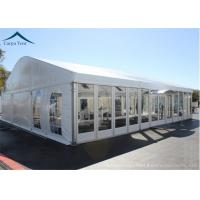 Wholesale Elegant Different Shape Glass Wall Tent Structures For Outdoor Business Party from china suppliers