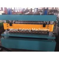 Wholesale 380V 50HZ 3 Phase Corrugated Roll Forming Machine For Color Steel Plate from china suppliers