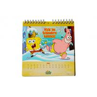 Wholesale OEM Customized desk calendar / wall calender Spiral Bound Notepad from china suppliers