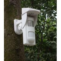 Quality Outdoor Solar  Alarm Motion Detectors With Sound & Light Alert For Park Fire Fighting for sale