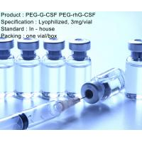 Wholesale 3 mg/vial Recombinant Human PEG-G-CSF PEG-rhG-CSF Injection from china suppliers