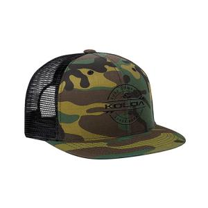 Wholesale Custom Five Panel 56cm Mesh Trucker Caps With Snap Flat Embroidery Logo from china suppliers