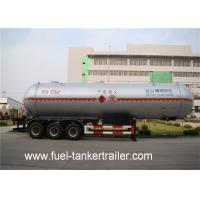 Wholesale 50000 liters LPG bullet trailers / gas bulk tanks tri-axles LPG tank semi trailer from china suppliers