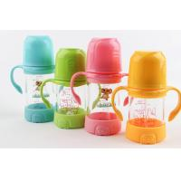 Quality 240ML Baby Bottle Drinking Glasses Bottles For Breastfed Babies Colorful for sale