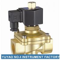 Wholesale Two Way Brass Air Operated Solenoid Valve , 2 Inch Water Solenoid Valve from china suppliers