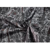 Digital Printed Apparel Fabric / Printed Polyester Fabric Soft Touch