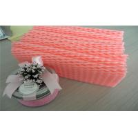 Wholesale EPE Foam Recyclable Fruit Foam Net Fruit Protective Packaging , Red And White Color from china suppliers