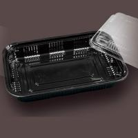 Quality black food packaging container boxes for sale
