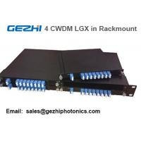 "Wholesale Passive CWDM Mux Demux 8CH Module by 4pcs LGX Box in one 19"" 1U Rackmount from china suppliers"