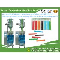 Quality Automatic liquid frutis syrup packing machine form bestar packaging machine for sale