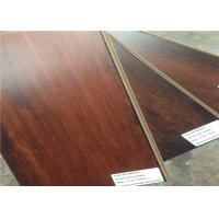 Wholesale Glueless Textured Laminate Flooring , Dark Wooden Floating Dressing Room Floorings from china suppliers