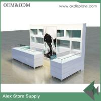 Quality Jewelry shop showcase wooden furniture showcase China supplier glass display furniture for sale