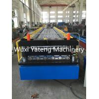 Wholesale Mental Roof And Wall Corrugated Roll Forming Machine 0.4 - 0.8mm Thickness from china suppliers