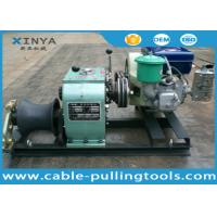 Buy cheap 3 Ton Variable Speed Pulling Capstan Cable Winch With Diesel Engine from wholesalers