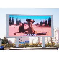 Quality High Brightness RGB LED Screen / P10 Outdoor Full Color LED Display 320mm*160mm for sale
