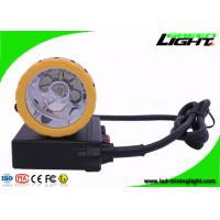 Buy cheap 50000 Lux Coal Mining Lights , 1000mA Miner Helmet Lamp for Underground Mine Working Hunting from wholesalers