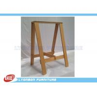 Quality OEM / ODM MDF Wooden Display Stands Customized Retail Shopping Mall Display Rack for sale