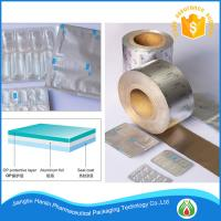 China Hard Temper and Pharmaceutical Use aluminium lidding foil for blister packaging on sale