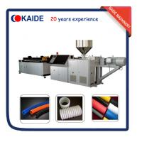 Wholesale Plastic Pipe Making Machine for PE Single Wall Corrugated Pipe KAIDE factory from china suppliers