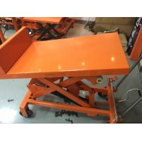 Wholesale Manual Scissor Tilting Work Table 26 Degree Tilt Angle For Repair Working Place from china suppliers