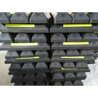 Quality rubber wheel stopper for car parking block car stopper for sale