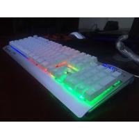 Quality wholesale keyboard, multimedia keyboard logo with led light for sale