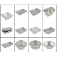 Wholesale Fast Food Aluminium Catering Trays / Aluminum Foil Tray Half Hard Temper from china suppliers