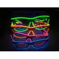 Wholesale Shinging El Wire Glasses With Diffraction Effect Lens For Watching Fireworks from china suppliers