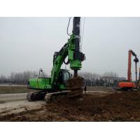 Wholesale 50 KN . M Max Torque KR50A Micro Hydraulic Piling Rig for 20m Rotary Bored Hole Pile from china suppliers