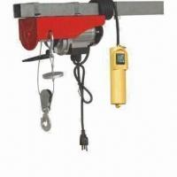 Wholesale Mini Wire Rope Eletric Hoist, Remote Control Wire or Wireless Offer from china suppliers