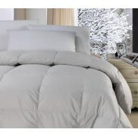 Wholesale Polyester Fabric White Feather And Down Quilt Downproof  Light Weight Comforter from china suppliers