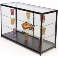 Wholesale 60 Inch Cell Phone Display Cabinet With Sliding Door Adjustable Shelves from china suppliers
