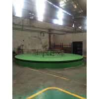 Quality Semi Automatic Turntable Production Line for PU Foam Products Production for sale