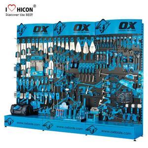 Buy cheap Custom Accessories Display Stand Metal H-Shape Powder Tool Display Racks Freestanding from wholesalers