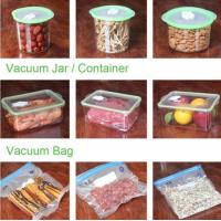 Wholesale VACUUM JAR, VACUUM CONTAINER, channel vacuum pouch food storage bag, Safety food grade vacuum storage bag, home used vac from china suppliers