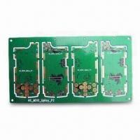 Wholesale Aluminum LED Double-sided PCB with Green Solder Mask and 0.1mm Minimum Line Width from china suppliers