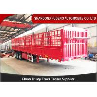Wholesale Customized 40ft flatbed drop side wall semi trailer for sale in Africa from china suppliers