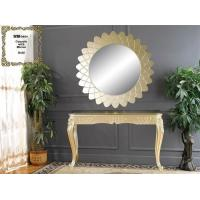 Buy cheap Polyresin Console Table With Mirror , Home Decoration Mirrored Console Table from wholesalers