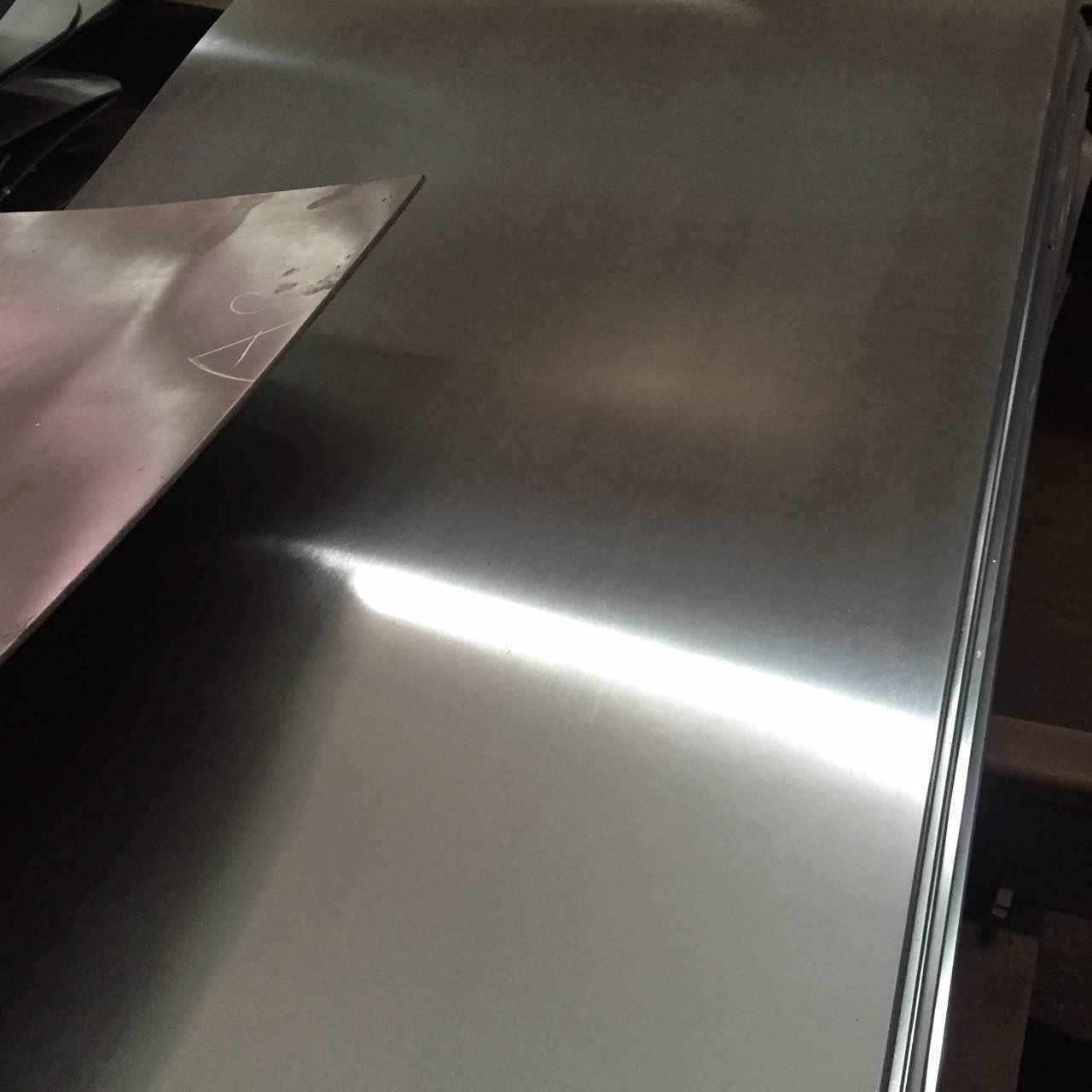 Wholesale 1.4571 SS Cold Rolled Steel Sheet , Polished Stainless Steel Sheet 0.5*1000*5000mm from china suppliers