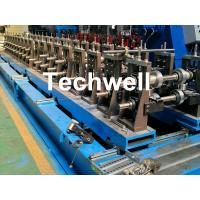 Quality Galvanized Steel Cable Tray Roll Forming Machine With 18 Stations Forming Roller Stand for sale