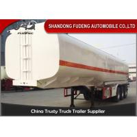 Wholesale 4 Compartments Fuel Tanker Semi Trailers Tri-Axles 45000 Liters Petrol Tankers from china suppliers
